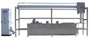MultiClean-4 (pesu-huuhtelu-huuhtelu-kuivaus) + Automaattinen korinkäsittelyjärjestelmä